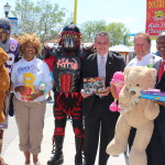 Toy Drive Launch at Fun Spot